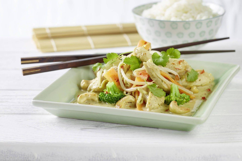 Chicken Thai mit asiatischen Kräutern