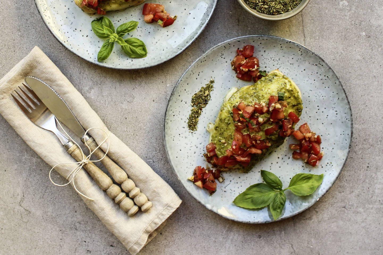 Hühner-Bruschetta mit Toskana Kräuter