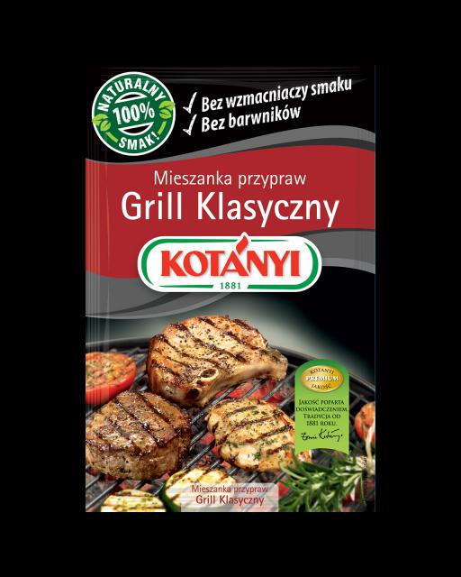 346304 Kotanyi Grill Klasyczny Mieszanka Przypraw B2c Pouch