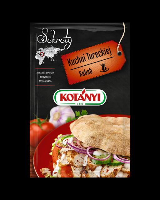 349504 Kotanyi Sekrety Kuchni Tureckiej Kebab B2c Pouch