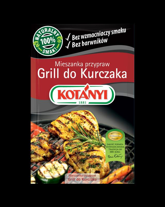 350404 Kotanyi Grill Do Kurczaka Mieszanka Przypraw B2c Pouch