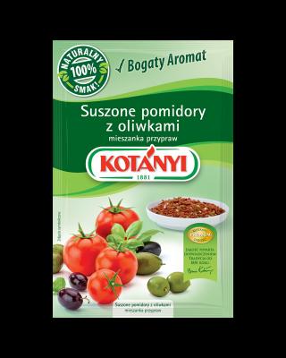 352904 Kotanyi Suszone Pomidory Z Oliwkami Mieszanka Przypraw B2c Pouch