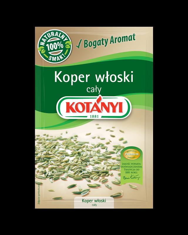 353804 Kotanyi Koper Wloski Caly B2c Pouch