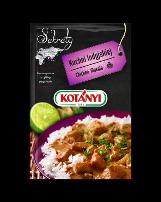 354904 Kotanyi Sekrety Kuchni Indyjskiej Chicken Masala B2c Pouch