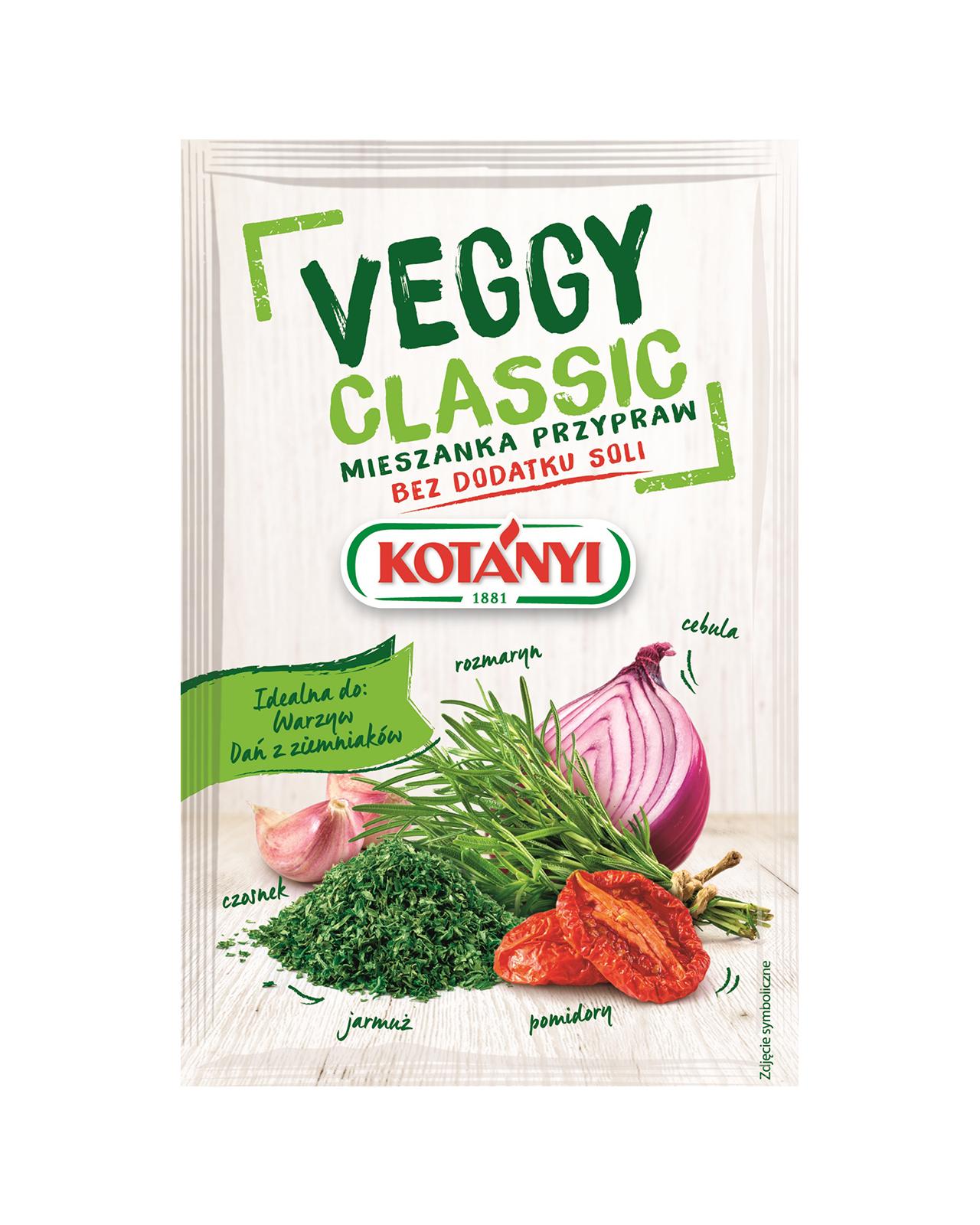 355504 Kotanyi Veggy Classic Mieszanka Przypraw B2c Pouch