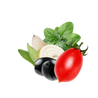 Tomato Olives Content Pl