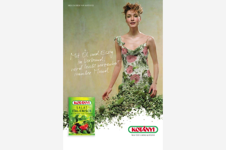 Reklama Kotányi z 2000 r.