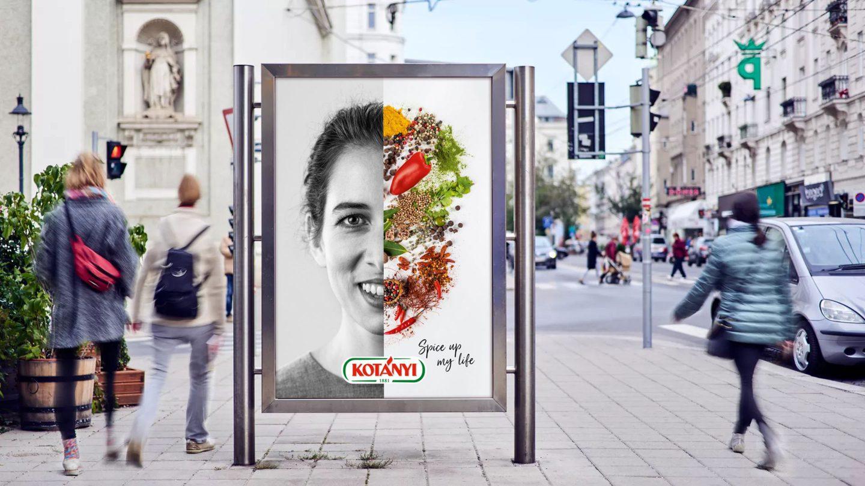 "Reklama Kotányi ""Spice up my life"""