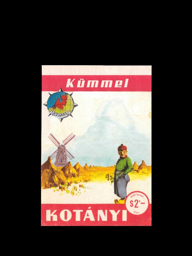 Torebka z kminkiem Kotányi z 1961 r.